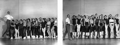 Jerome Robbins with Students, 1959 - Jumpology - Philippe Halsman