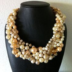 a white version of my wedding necklace... if it makes you crave it you can get one like it from i want a   http://best-jewelry-photo-collections.blogspot.com