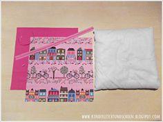 KINDERleicht und schön | Nähen mit Cherrygrön: Endlosreißverschluss Textiles, Angst, Sewing, Fabric, Diy, Material, Crafting, Sewing Patterns, Clearance Toys