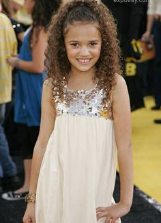 madison Pettis so young