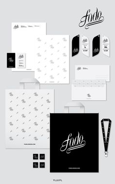 FADE LONDON x Branding & Illustrations by YLLV . Karol Gadzala, via Behance