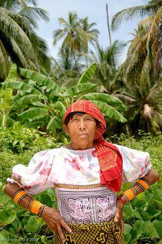 Meeting Kuna Yala Indian's on the San Blas Islands, Panama