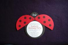 My bug's party invite