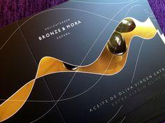 Dossier diseñado para Bronze & Mora