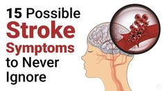 Prevent A Stroke: 15 Stroke Symptoms to Never Ignore