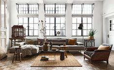 A loft with natural beauty – PLANETE DECO a homes world rnrnSource by lillyrosed Interior Styling, Interior Design, Natural Interior, Home Living Room, Interior Inspiration, Modern Decor, Home Goods, Sweet Home, New Homes