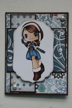some odd girl winter mae christmas | Winter Mae Christmas Card