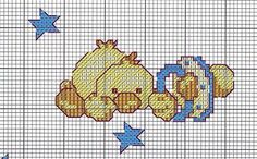 Infant Borders 2 of 2 Cross Stitch Pillow, Cross Stitch Cards, Cross Stitch Borders, Cross Stitch Baby, Cross Stitch Animals, Cross Stitch Designs, Cross Stitching, Cross Stitch Embroidery, Embroidery Patterns