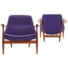 the Elisabeth Chairs by Ib Kofod-Larsen