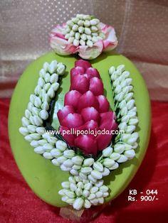 Flower Garland Wedding, Bridal Hair Flowers, Flower Garlands, Coconut Decoration, Telugu Brides, Hindu Bride, South Asian Bride, Wedding Crafts, Garden Projects