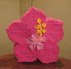 Flower Pinata - what she wants to make for her birthday