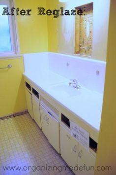 Bathroom Tiles Re-Glazed