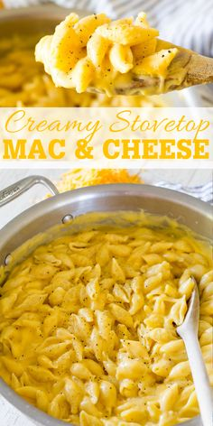 Easy Creamy Stovetop Mac and Cheese - Freutcake Best Mac And Cheese Recipe Easy, Homemade Mac And Cheese Recipe Easy, Quick Mac And Cheese, Skillet Mac And Cheese, Mac And Cheese Sauce, Boxed Mac And Cheese, Stovetop Mac And Cheese, Making Mac And Cheese, Easy Cheese