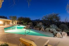 Even Al Beadle 1980's timeless mid-century architecture estate needs a lavish pool