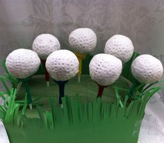 Golfers #Cake #Pops