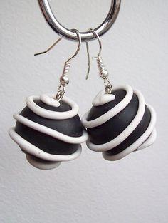 fimo earrings