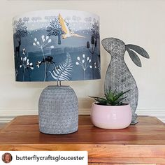 Print your own lampshade using our Fabric Printing Service