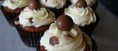 Κεκάκια με σοκολάτα Maltesers