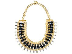 Payday treats: The statement necklace