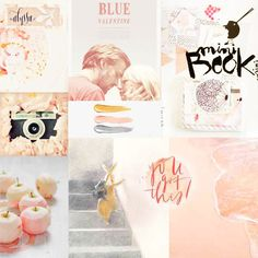 February mood board by aniamaria at @studio_calico