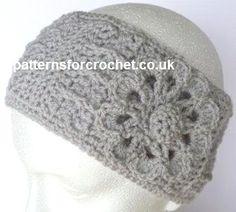 Free crochet pattern ear warmer headband uk