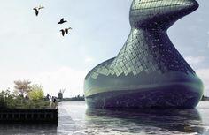 Conheça um projeto inusitado para captação de energia Solar em Copenhague, na Dinamarca.