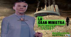 """Alessandra Stordy è """"La Gran Ministra"""": ambiziosa, assetata di potere, ambigua. Non cambierà nulla nel 2050? Questo il nostro futuro?"""