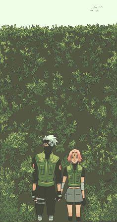 KakaSaku in bushes