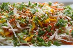Asian Cabbage Chicken Salad This was wonderful!