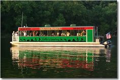 Imagine hosting a retreat on a 52 foot pontoon boat fully equipped to cater breakfast, lunch or dinner for up to 60 passengers.