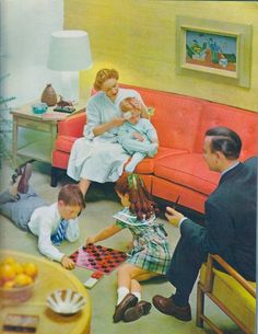 The Fuller Brush Family, 1956 - Retronaut Vintage Advertisements, Vintage Ads, Vintage Images, Look Vintage, Vintage Girls, Fuller Brush, Vintage Housewife, Pin Up, Vintage Interiors
