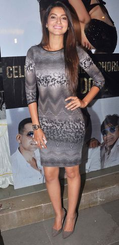 Gauahar (Gauhar) Khan at the success bash for 'Ragini MMS 2' song 'Baby Doll' #Style #Bollywood #Fashion #Beauty
