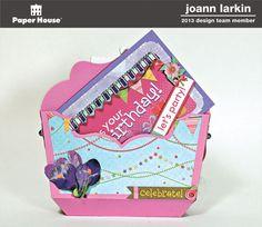 Open Purse and Card - Joann Larkin
