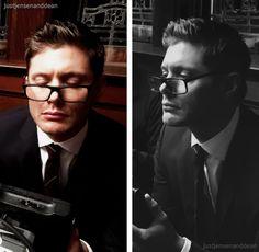 Jensen Ackles & Dean Winchester