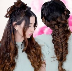 The boho hairstyles 2017-2018 are so natural to attempt and it look so excellent and in vogue. You can play with your regular surface and change your look briefly.