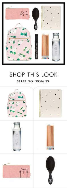 """""""#486 what's in my bag"""" by xjet1998x ❤ liked on Polyvore featuring Sugar Paper, Topshop, backpack and inmybackpack"""