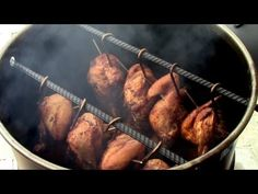 Fire Roasted Chicken on the Pit Barrel Cooker