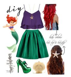 Get an awesome DIY little mermaid costume straight from your closet