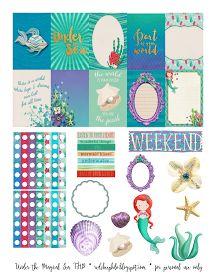 RedSheep Prints: Freebie Friday!Under the Magical Sea Printable!