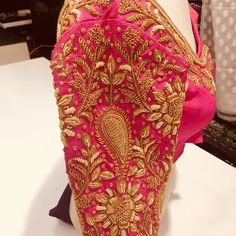 25 Dashing Red Work Blouse designs to try for your wedding - Wedandbeyond
