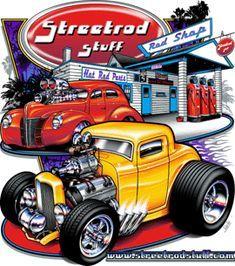 New Vintage Cars Illustration Hot Rods Ideas Cartoon Car Drawing, Vw Vintage, Vintage Style, Cool Car Drawings, Auto Retro, Truck Art, Car Upholstery, Garage Art, Car Illustration
