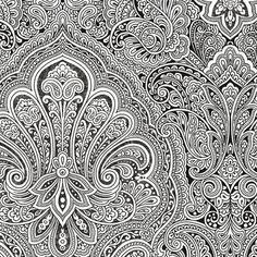 Norwall Wallpaper brand Patton book name Black and White Thanks for shopping Mahones Wallpaper Shop for pattern brand Norwall Wallpaper by Patton Wallcovering. Grey And White Wallpaper, Paisley Wallpaper, Old Wallpaper, Trendy Wallpaper, Pattern Wallpaper, Wallpaper Backgrounds, Luxury Wallpaper, Wallpapers, Custom Wallpaper