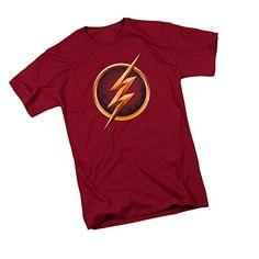 The Flash Logo -- CW's The Flash Programa De Televisión Adulto Camiseta, L #camiseta #friki #moda #regalo