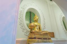 Architecture Art And Craft Built Structure Creativity Day Gold Colored Human Representation Idol Indoors  Low Angle View Male Likeness No People Place Of Worship Religion Sculpture Spirituality Statue Night For Day Group Of People Religion Old Buddha Large Group Of People Light Trail Thailand Nakhon Pathom Thailand Photos