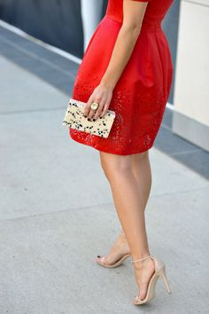 Lady In Red - My Style Vita