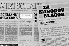 Layout examples for Muriza — A modest Slab designed by Jürgen Schwarz and Jakob Runge > http://muriza.com/#layouts