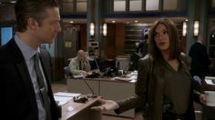 Mariska and Peter Scanavino in Depravity Standard.  #Hargileather
