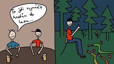 Nesmyslné+odpovědi Comics, Blog, Art, Craft Art, Kunst, Comic Book, Blogging, Cartoons, Comic