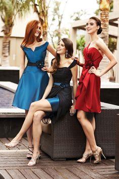 Simone Carvalli Bridemaids Styles 96020, 96018 and 96008
