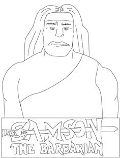 samson bible story coloring pages - free coloring pages to print samson coloring pages